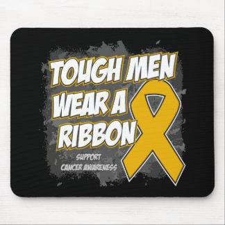 Appendix Cancer Tough Men Wear A Ribbon Mousepads