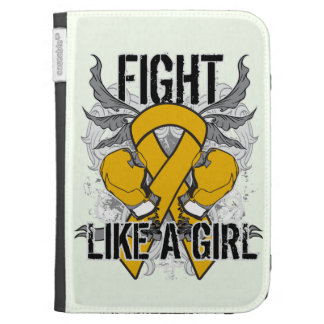 Appendix Cancer Ultra Fight Like A Girl Kindle 3G Cover