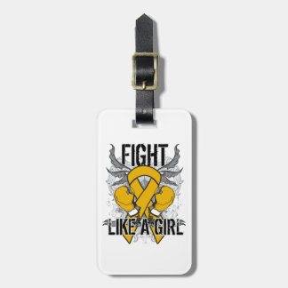 Appendix Cancer Ultra Fight Like A Girl Travel Bag Tag