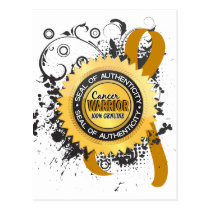 Appendix Cancer Warrior 23 Postcard