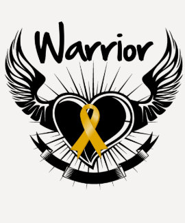 Appendix  Cancer Warrior Fighter Wings Shirt