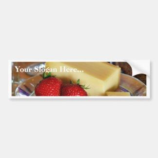 Appenzeller Cheese Car Bumper Sticker