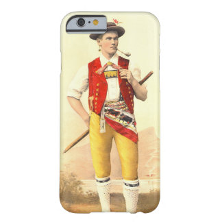 Appenzeller Cow Herd in Traditional Swiss Costume Barely There iPhone 6 Case
