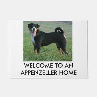 """Appenzeller Sennenhund"" por completo Felpudo"