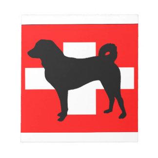 Appenzeller Sennenhund silo switzerland flag.png Notepad