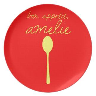 Appetit del Bon, Amelie Plato De Cena