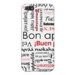 Appetit del Bon en tipografía de muchos otros idio iPhone 5 Fundas