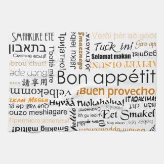 Appetit en otras idiomas - naranja del Bon Toalla