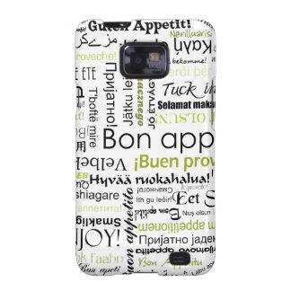 Appetit verde del Bon en otras idiomas Samsung Galaxy SII Carcasas
