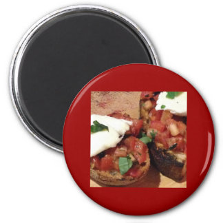 Appetizer 2 Inch Round Magnet