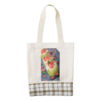 Appetizer Zazzle HEART Tote Bag