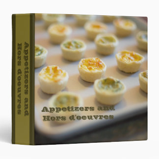 Appetizers and hors d'oeuvres recipes avery binder