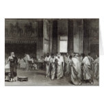 Appius Claudius Greeting Card