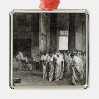 Appius Claudius Metal Ornament