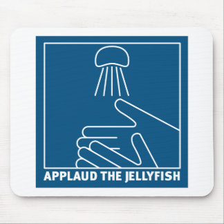 applaud for jellyfish mouse pad