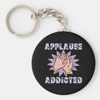 Applause Addicted Keychain