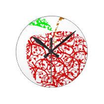 apple2 round clock