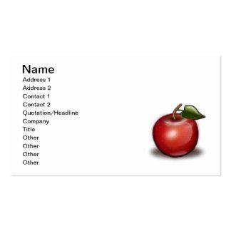 apple_002_Vector_Clipart Business Card