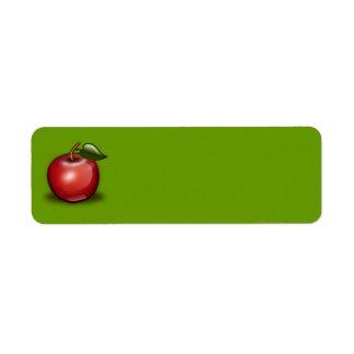 apple_002_Vector_Clipart Etiquetas De Remite