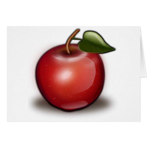 apple_002_Vector_Clipart Tarjeta