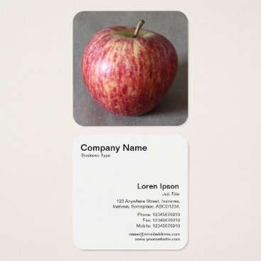 Professional Business Apple 03 square business card