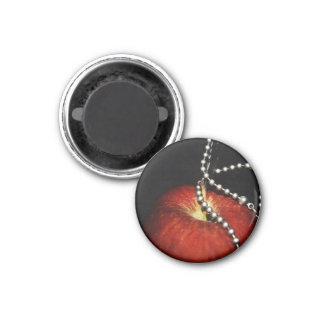 Apple 1 Inch Round Magnet