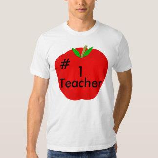 apple, #, 1, Teacher T-Shirt