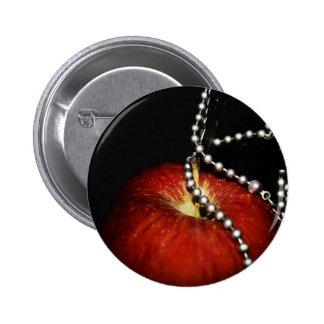 Apple 2 Inch Round Button