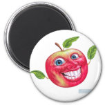 apple 2 inch round magnet