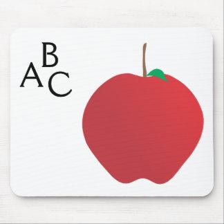 Apple A B cojín de ratón de C Alfombrillas De Ratón