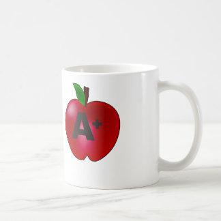 Apple A+ Coffee Mug