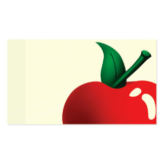 apple a day Double-Sided standard business cards (Pack of 100)