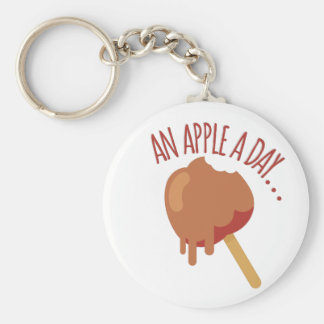 Apple A Day Keychain