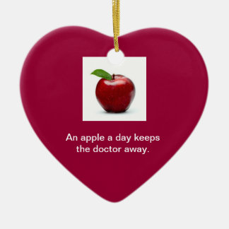 Apple a Day Ornament