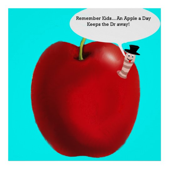 Apple A Day! Poster
