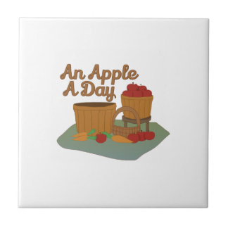 Apple a Day Ceramic Tiles