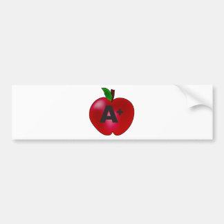 Apple A+ Pegatina Para Auto