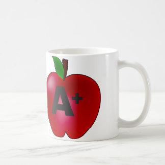 Apple A+ Taza
