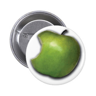 Apple abotona pin redondo de 2 pulgadas