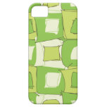 Apple Abstract Green and White Color Design iPhone 5 Cases