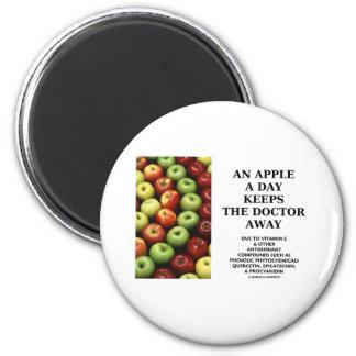 Apple al día guarda al doctor Away (el consejo de  Iman De Frigorífico