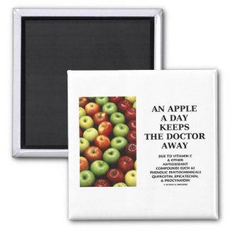 Apple al día guarda al doctor Away (el consejo de  Imanes
