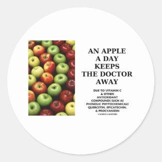 Apple al día guarda al doctor Away (el consejo de