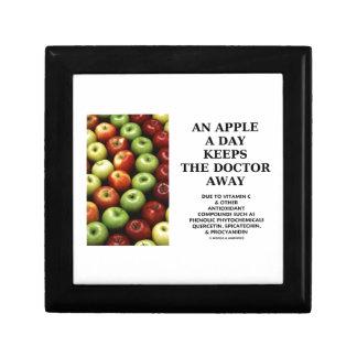 Apple al día guarda al doctor Away (el humor de la Caja De Joyas