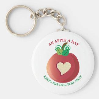 Apple al día llaveros personalizados