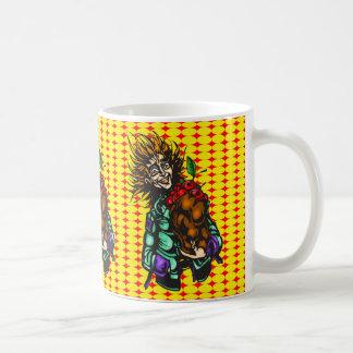 Apple al día taza de café