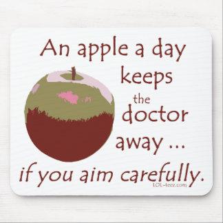 Apple al día tapete de ratón
