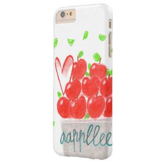 Apple ama iphone de la decoración funda para iPhone 6 plus barely there