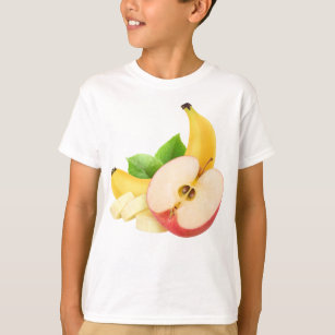 939bcd7c679c4 Apple and banana T-Shirt