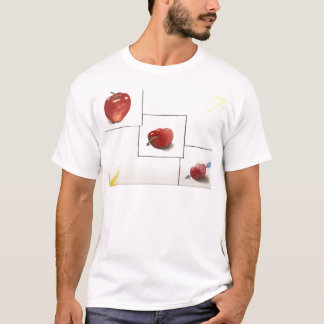 Apple and Hearts Transformation T-Shirt